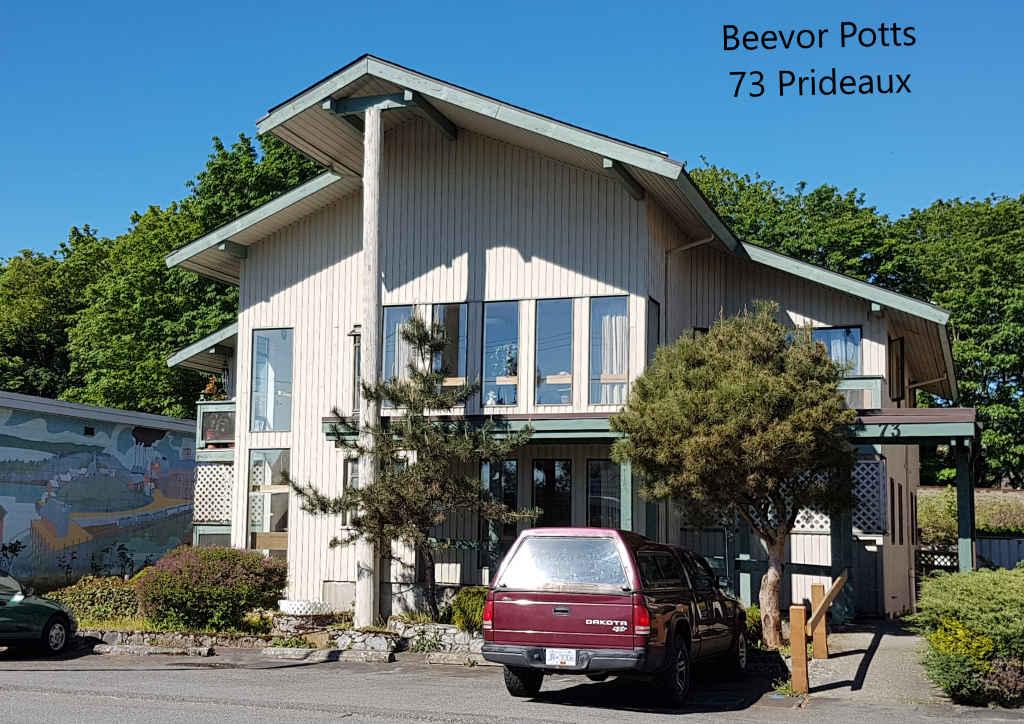 Beevor Potts - 73 Prideaux St.